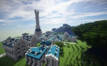 Spectacular Builds Minecraft' 'floating Island