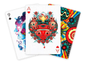 Дизайнерские покерные карты