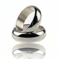 Магнитное кольцо для фокусов | Silver magnetic PK Ring