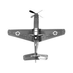 Металлический 3D-пазл Р-51 Мустанг
