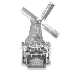 Металлический 3D-пазл Ветряная мельница