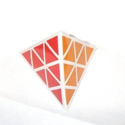 Пирамидка 3x3 Белая для начинающих