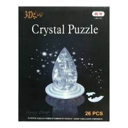 3D Crystal Puzzle «Капля воды»
