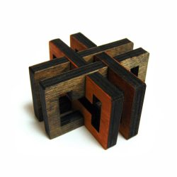 3D-головоломка деревянная Перекресток