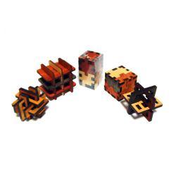 Набор из пяти 3D головоломок