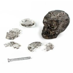 3D Crystall Puzzle Skull