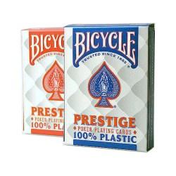 Покерные карты Bicycle Prestige 100% пластик