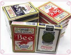 Конусная колода карт Bee