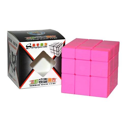 Зеркальный кубик ShengShou Розовый