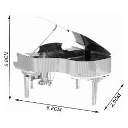 Металлический 3D-пазл Рояль