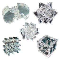 Набор из пяти 3Dголоволомок
