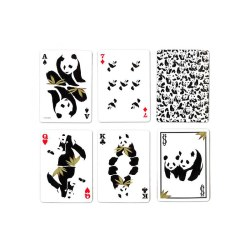 Покерные карты Bicycle Pandamonium Панды