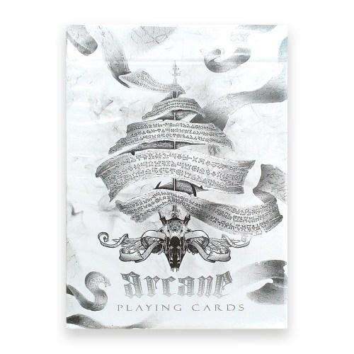Покерные карты Arcane White Ellusionist