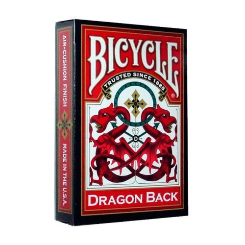 Карты Bicycle Dragon Back Red