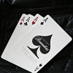 Покерные карты Madison Rounders White