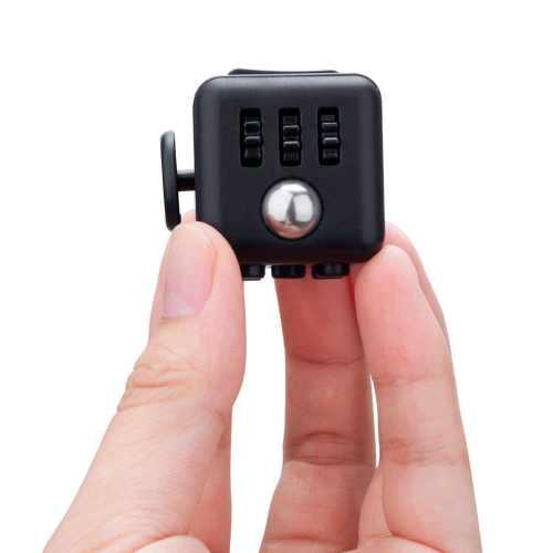 Антистрессовый кубик Fidget Cube Чёрный
