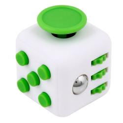 Антистрессовый кубик Fidget Cube Белозелёный