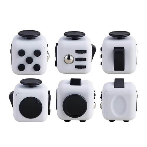 Антистрессовый кубик Fidget Cube (Чёрно-белый)