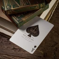 Покерные карты Monarchs Green (Theory11)