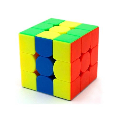 Кубик Рубика 3х3 Qiyi Thunderclap v2 Color