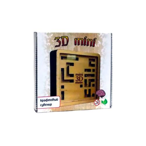 Головоломка крафтлабиринт 3D мини