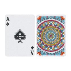 Карты покерные Copag Neo Deck Mandala (оранжевые)