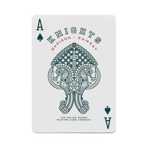 Покерные карты Red Knights Ellusionist