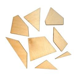 Десятиугольник геометрическая головоломка