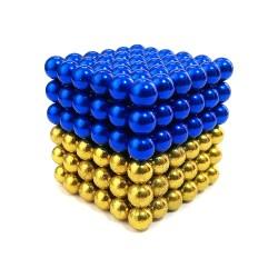 Неокуб NeoCube 5 мм Двухцветный (патриот)