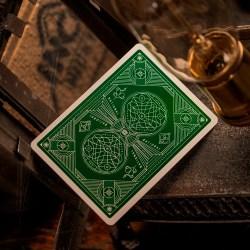 Покерные карты Green National