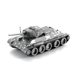 Металлический 3D-пазл Танк Т-34