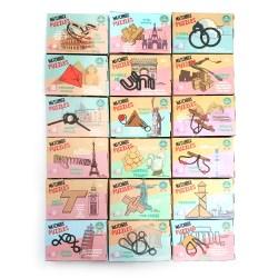 Коллекция из 18 карманных головоломок