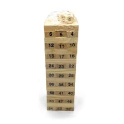 Маленькая Дженга Tree Toys на 51 брусок
