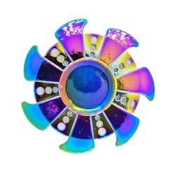 Металлический спиннер Солнце