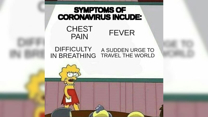 Corona Virus Test Results Funny Meme