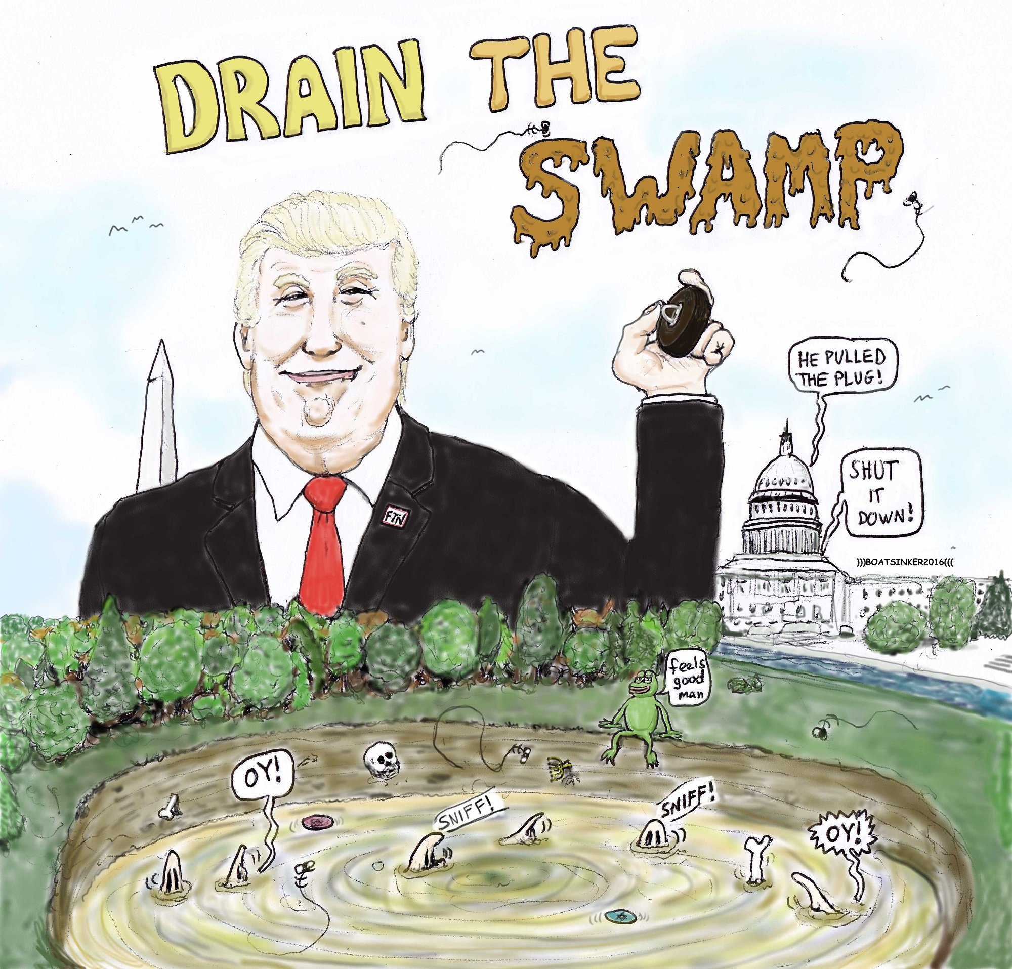 drain the swamp know