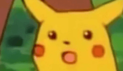 Image result for pikachu meme