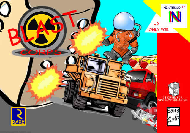 blast corps n64 game