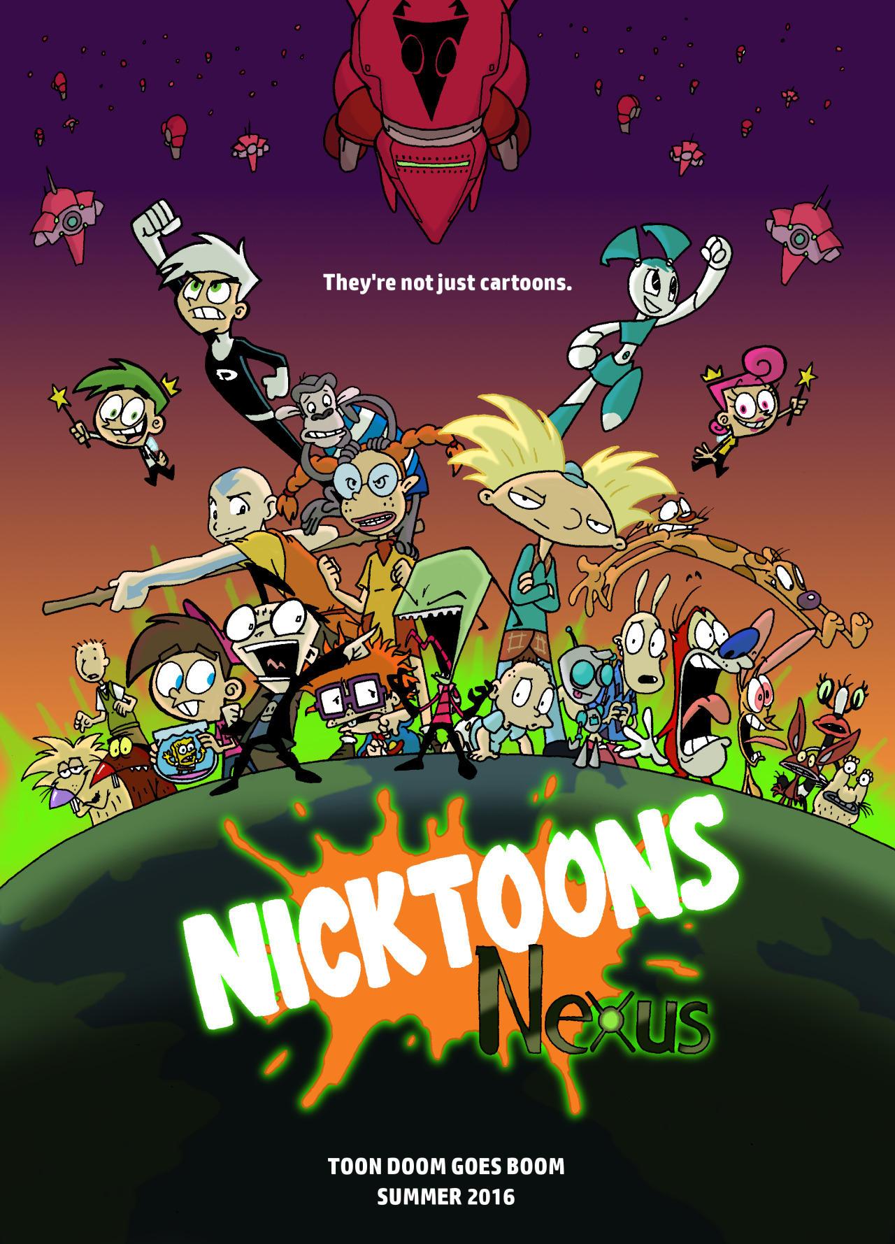 Nickelodeon 25th Anniversary : nickelodeon, anniversary, Anniversary, Movie, Exist, Nickelodeon
