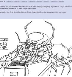 centipede diagram [ 1260 x 720 Pixel ]