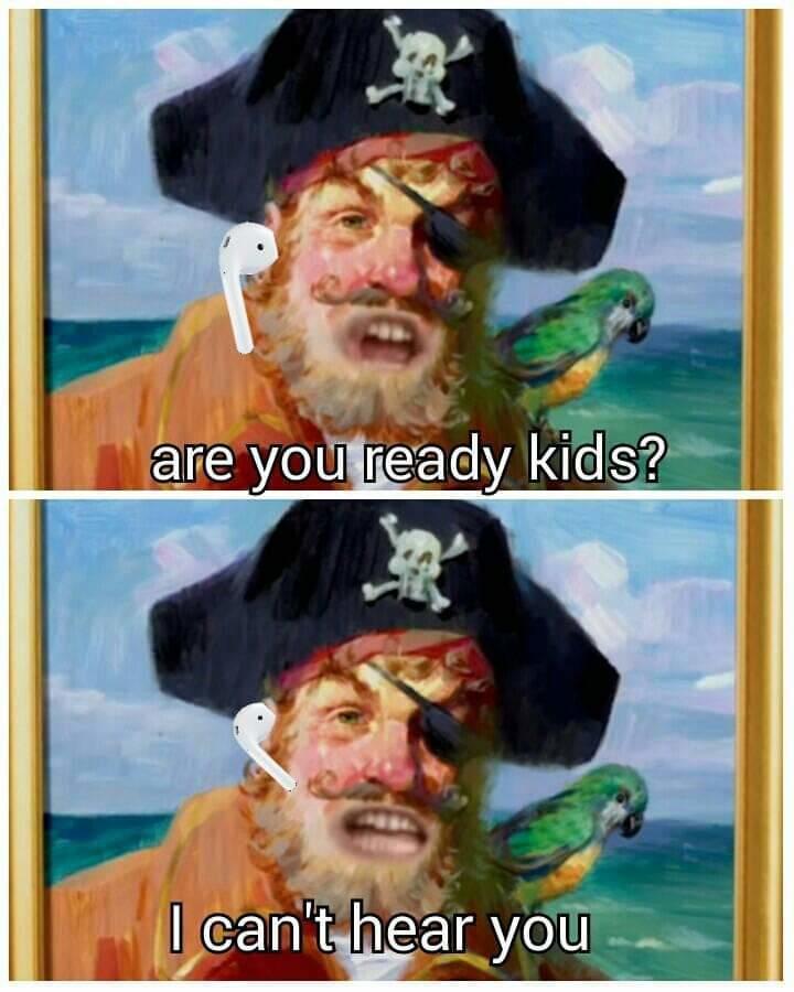 Spongebob Airpod Meme : spongebob, airpod, Wearing, Earpods, Truck's, Coming, AirPods