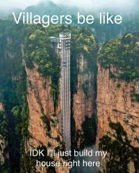 Village construction r/MinecraftMemes Minecraft Know Your Meme