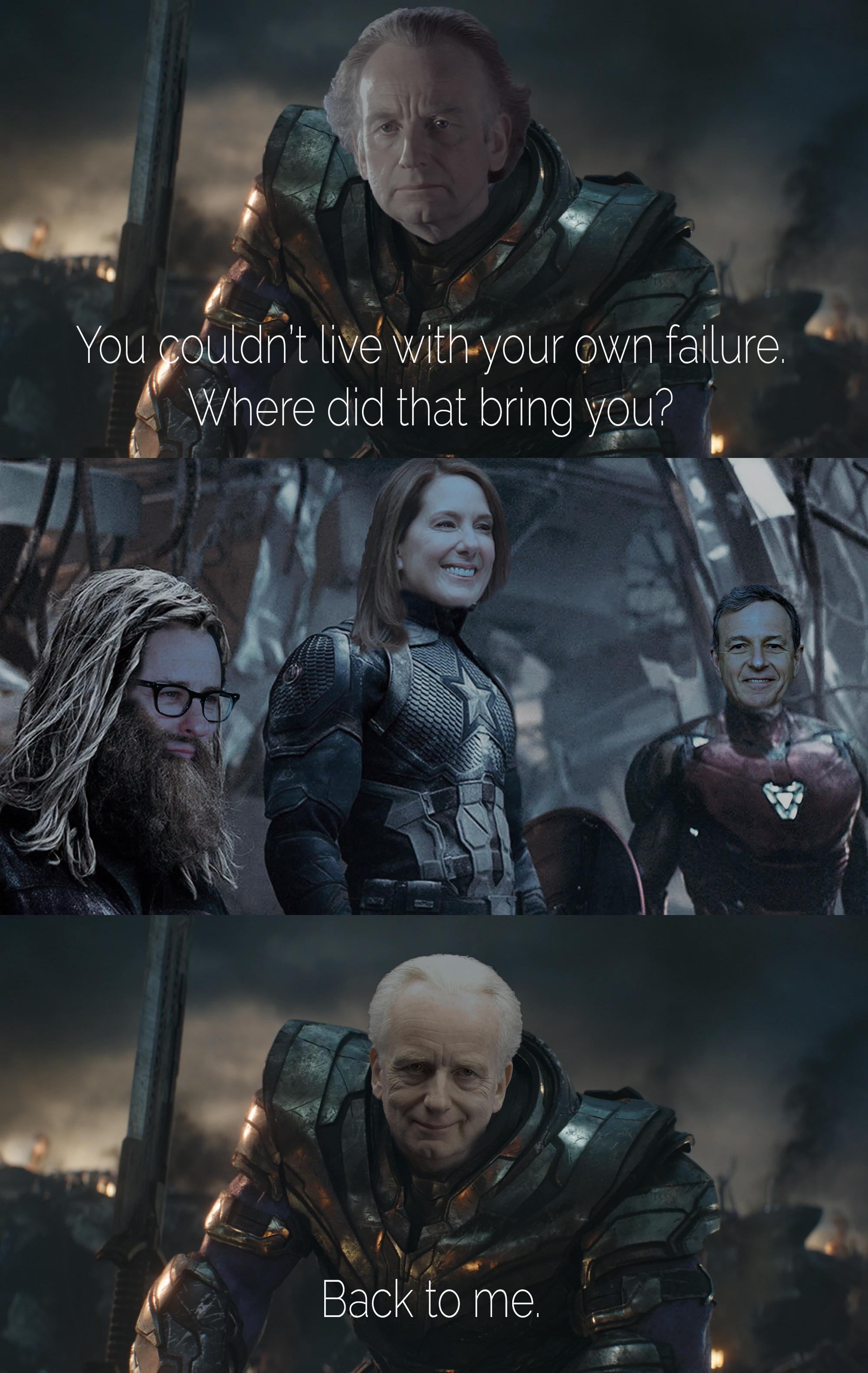 You Couldn T Live With Your Own Failure Meme : couldn, failure, Cost?, /r/PrequelMemes, Prequel, Memes