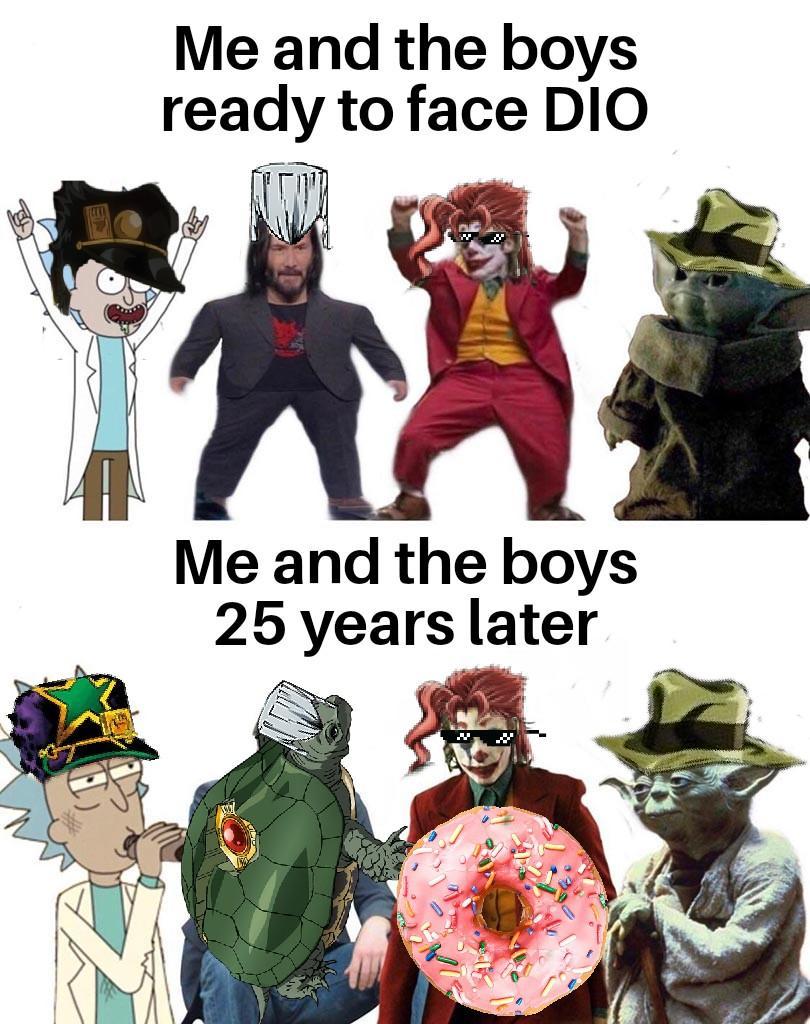 Avdol Yes I Am Meme : avdol, Really, Gonna, Leave, Avdol, That?, /r/ShitPostCrusaders/, JoJo's, Bizarre, Adventure