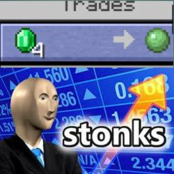 VILLAGER Trade /r/MinecraftMemes Minecraft Know Your Meme