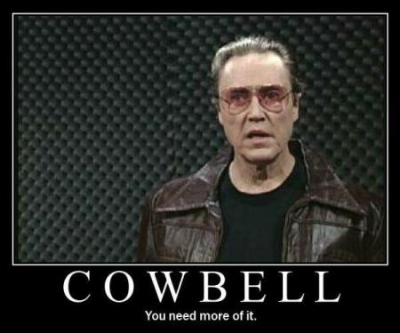 COW BELL You need more of it. Will Ferrell Saturday Night Live facial hair phenomenon photo caption