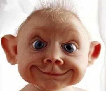 delet pls funny baby