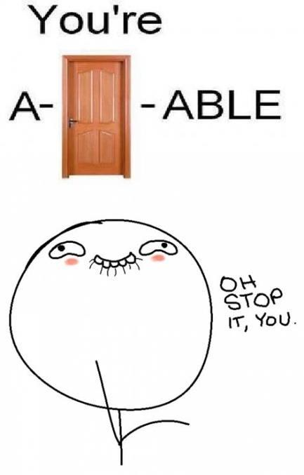 Oh Stop It : A-Door-able