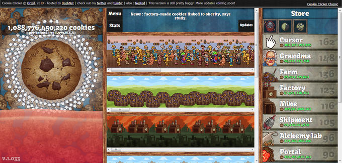 Grandma Cookie Clicker Game Games World
