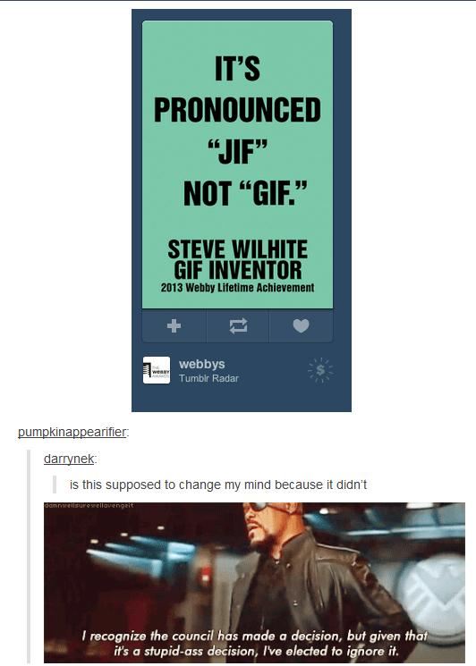 Gif Vs Meme : Image, 860510], Pronunciation, Debate
